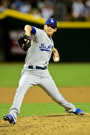 J.P. Howell was one of the Los Angeles Dodgers' better relievers in 2013. Mandatory Credit: Matt Kartozian-USA TODAY Sports