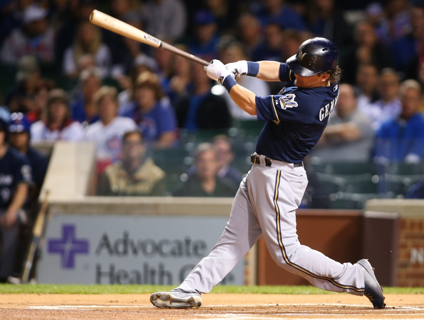 Scooter-gennett-mlb-milwaukee-brewers-chicago-cubs