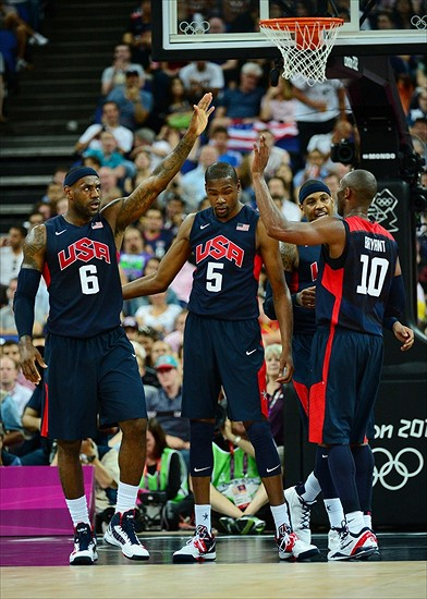 Olympics: Basketball-Men