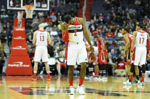 Feb 23, 2016; Washington, DC, USA; Washington Wizards guard <a rel=