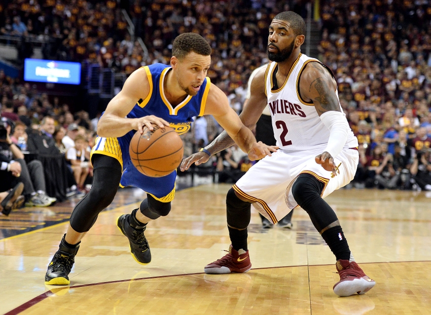 Just How Close Exactly Are Stephen Curry and Kyrie Irving?