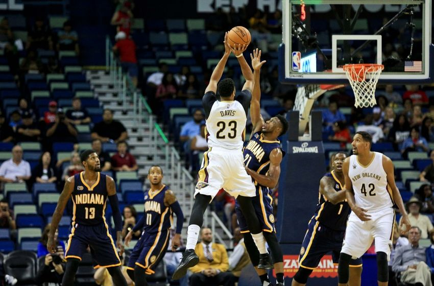 Oct 4, 2016; New Orleans, LA, USA; New Orleans Pelicans forward <a rel=