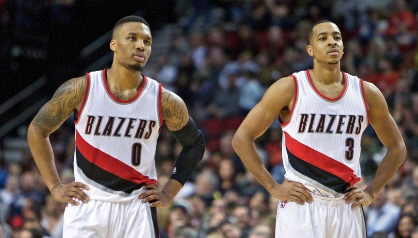 Jan 29, 2016; Portland, OR, USA; Portland Trail Blazers guard <a rel=