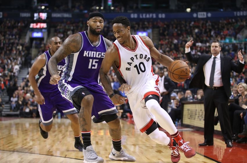 Nov 6, 2016; Toronto, Ontario, CAN; Toronto Raptors guard <a rel=