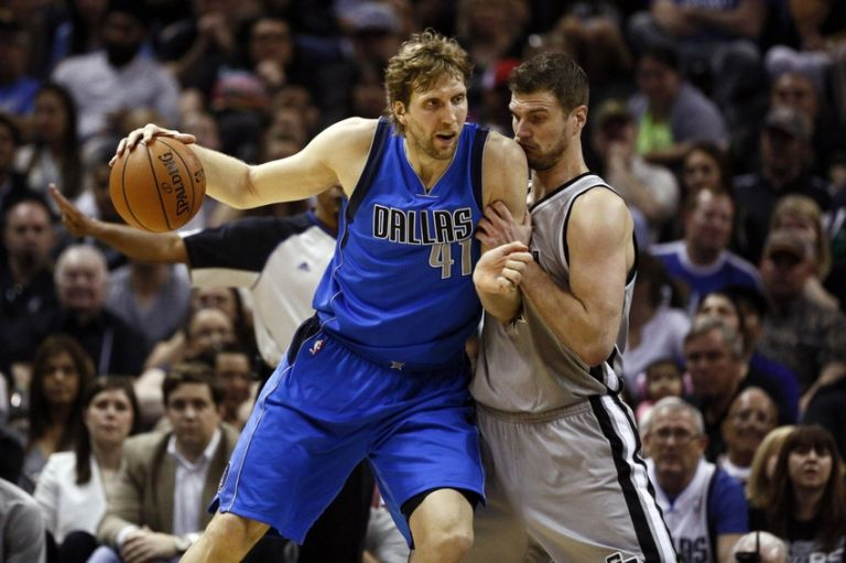Dirk-nowitzki-tiago-splitter-nba-dallas-mavericks-san-antonio-spurs-768x0