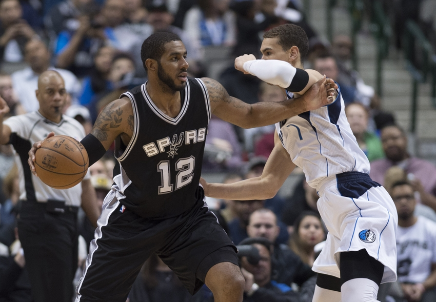 Postgame Wrap: Popovich not happy, but Spurs down Mavs
