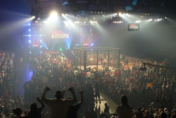 TNA Lockdown arena