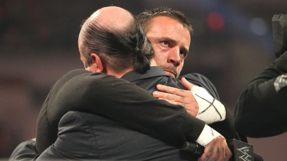 Paul Heyman was one of the few friends that CM Punk had in the WWE. (Photo source: wwe.com)