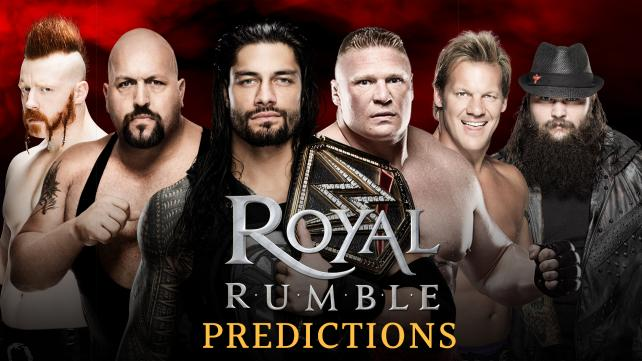 Who Will Win the WWE Royal Rumble Match? (Poll)