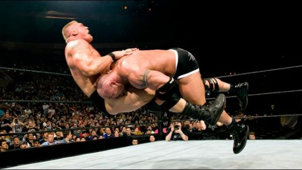 Brock Lesnar Goldberg WWE