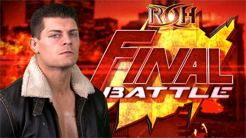 Roh final battle 2017 live results   ROH Final Battle