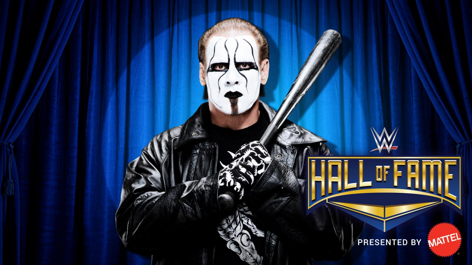 WWE Hall of Fame 2016: Watch Sting's Induction (Video)
