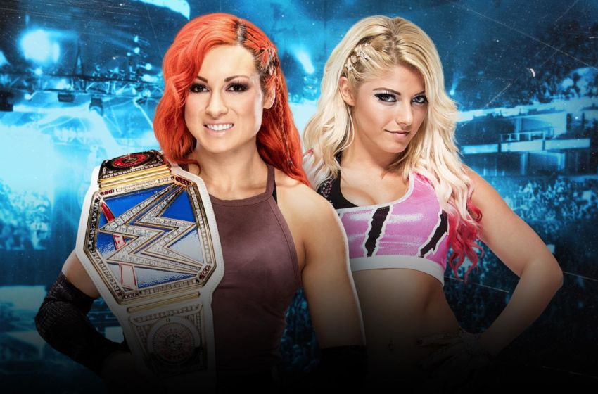 Becky Lynch Alexa Bliss No Mercy