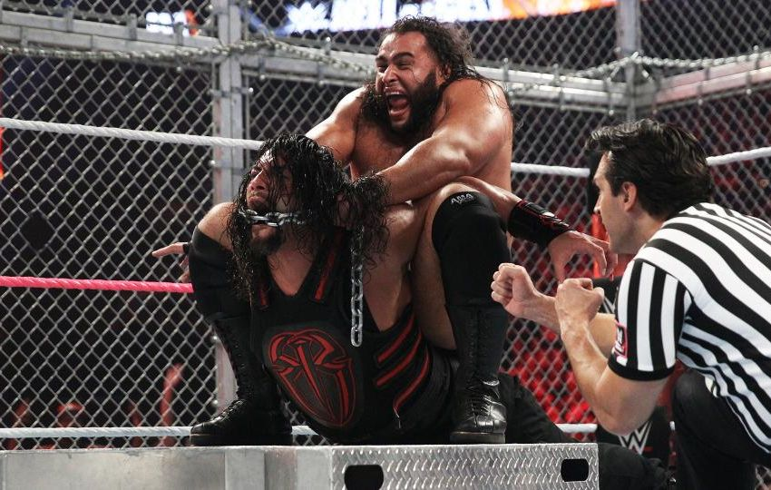 Hell in a Cell Rusev Reigns
