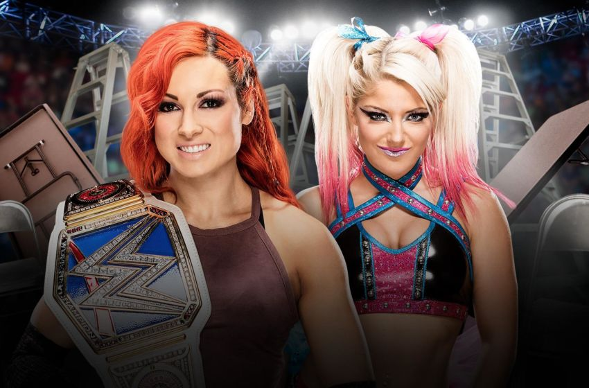 WWE TLC 2016 Becky Lynch Alexa Bliss
