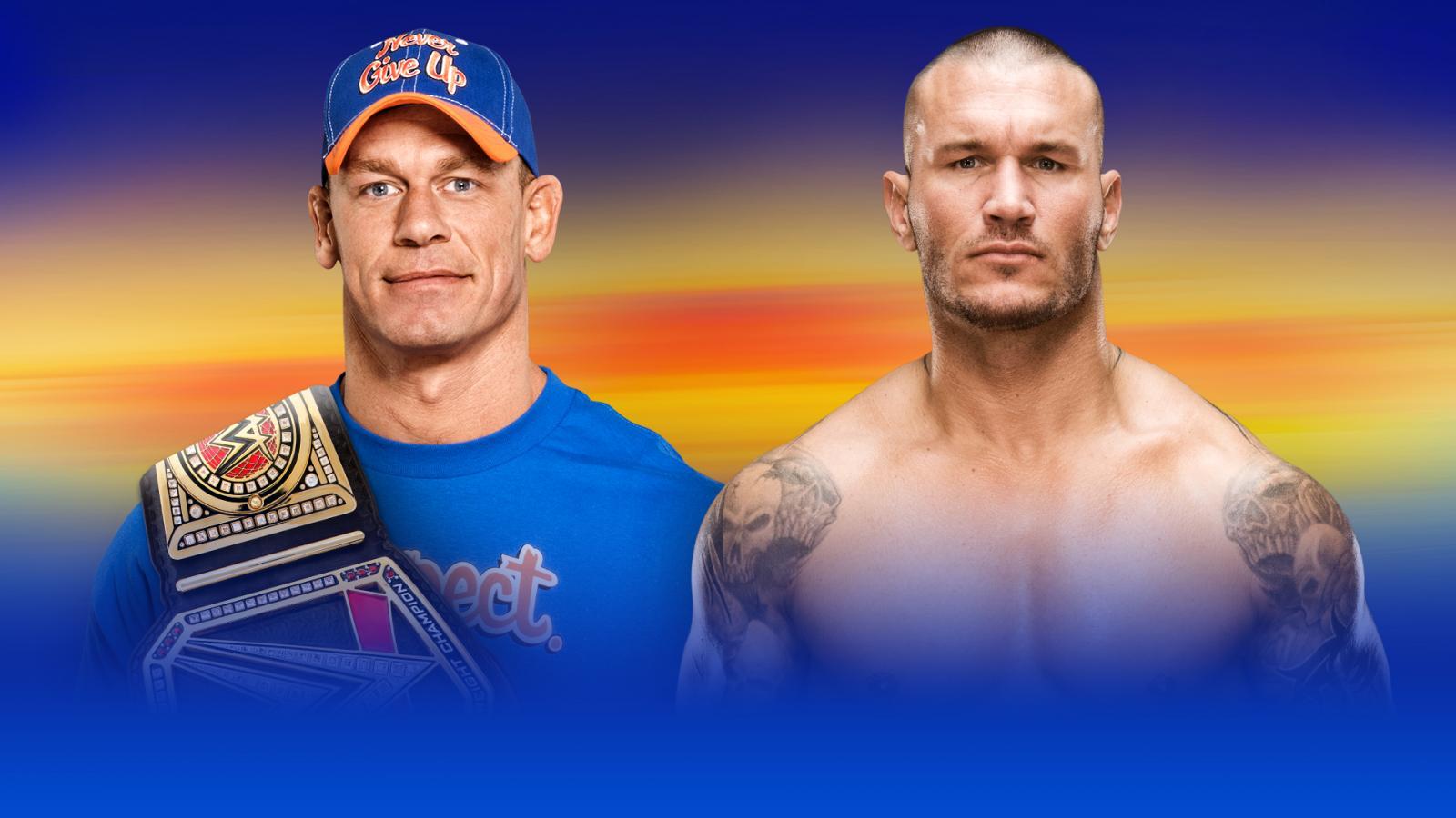 WWE WrestleMania 33: John Cena vs. Randy Orton Somewhat ...  WWE WrestleMani...