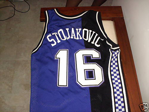 Authentic 1996-1997 Peja Stojakovic Jersey