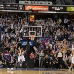 February 9, 2013; Sacramento, CA, USA; Sacramento Kings fans perform the crowd wave during the fourth quarter between the Sacramento Kings and the Utah Jazz at Sleep Train Arena. The Kings defeated the Jazz 120-109. Mandatory Credit: Kyle Terada-USA TODAY Sports