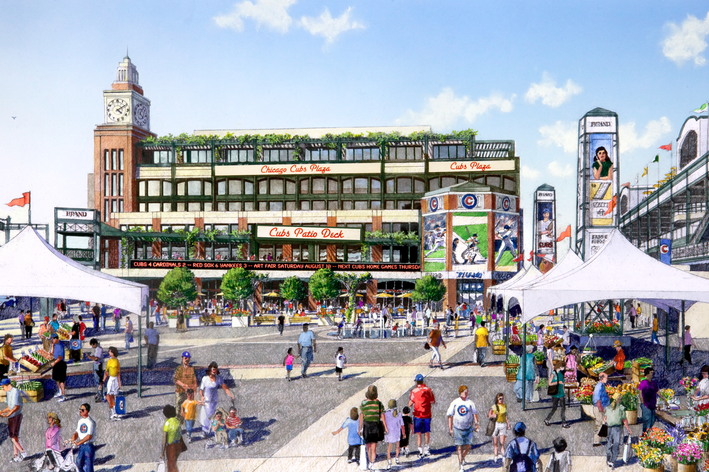 Chicago Cubs Wrigley Field Renovation Will Wait Until