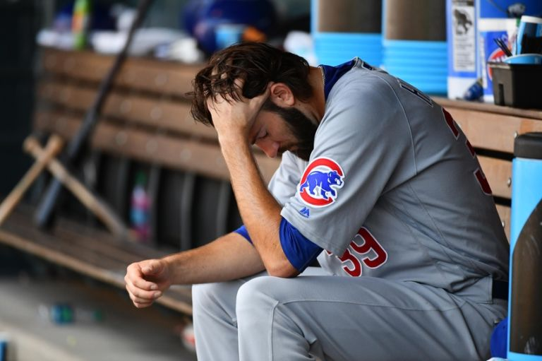 Chicago Cubs: What's going on with Jason Hammel?