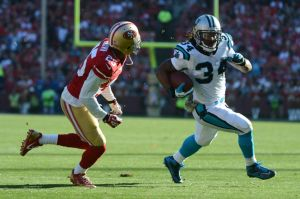 NFL: Carolina Panthers at San Francisco 49ers