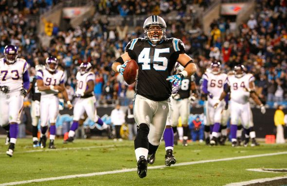 Carolina Panthers Brad Hoover