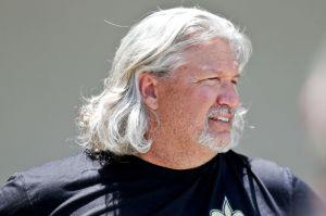 May 29, 2014; Metairie, LA, USA; New Orleans Saints defensive coordinator Rob Ryan during offseason team activities at the New Orleans Saints Training Facility. Mandatory Credit: Derick E. Hingle-USA TODAY Sports