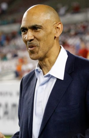 Former Tampa Bay head coach Tony Dungy Mandatory Credit: Kim Klement-USA TODAY Sports