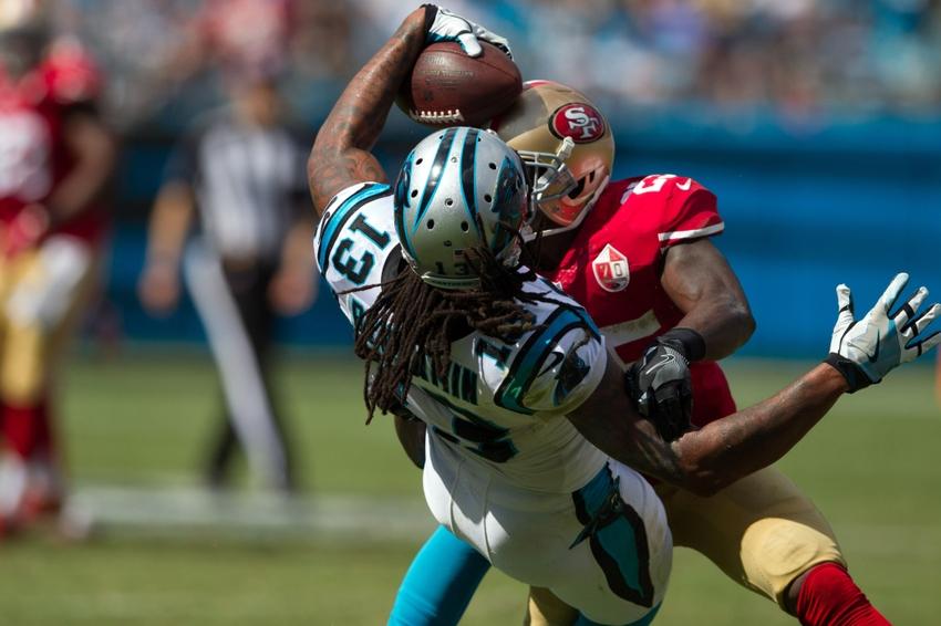 Carolina Panthers use Newton to Benjamin to survive sloppiness, top 49ers