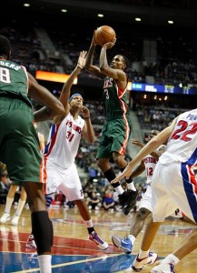 Milwaukee Bucks at Detroit Pistons