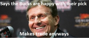 Milwaukee Bucks GM John Hammond