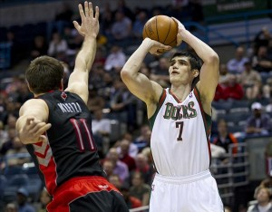 NBA: Toronto Raptors at Milwaukee Bucks