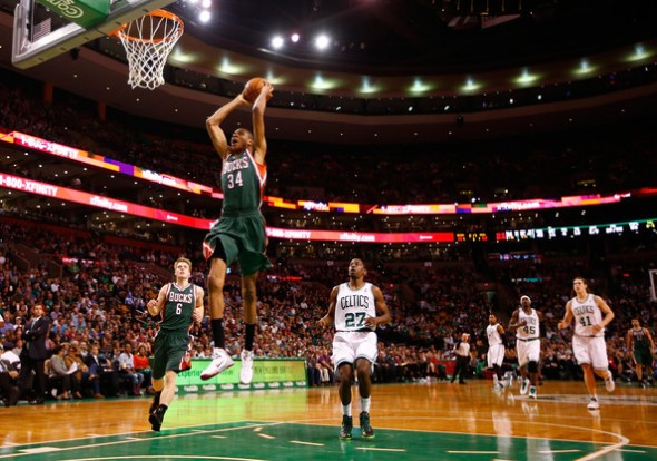 Bucks vs. Celtics Pic 12:3:13