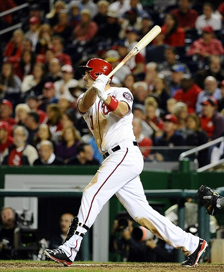 Ryan Zimmerman hopes his early season slumps are a thing of the past.Mandatory Credit: Brad Mills-USA TODAY Sports