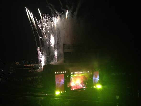 Paul McCartney at Nationals Park last summer. Image By: Pablo Roa