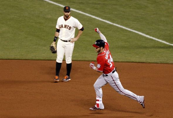 Bryce harper s 2014 season full of ups and downs
