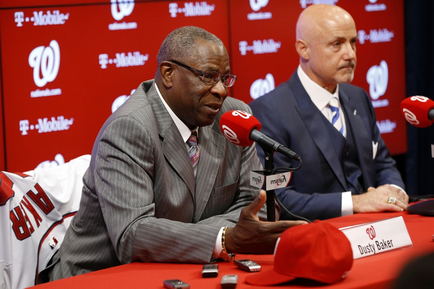 Dusty-baker-mike-rizzo-mlb-washington-nationals-press-conference