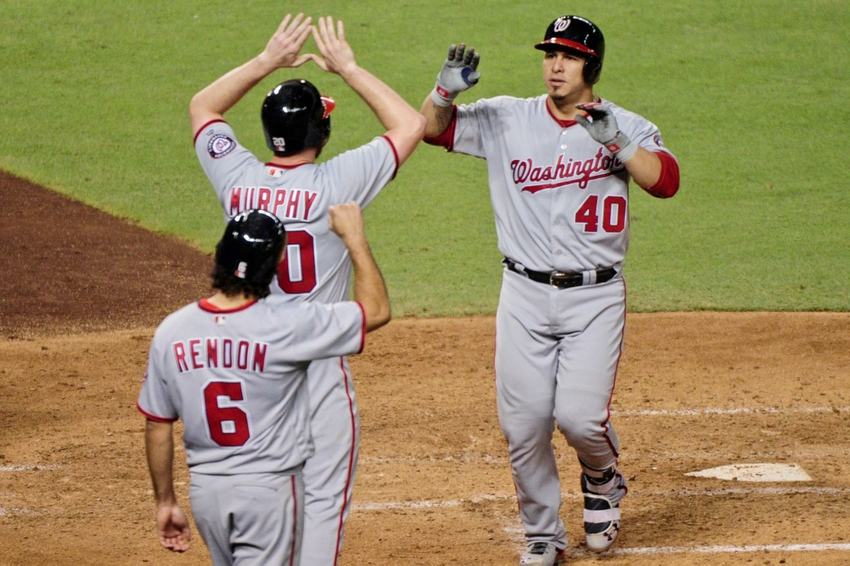 Big game from Ramos helps Nats to victory