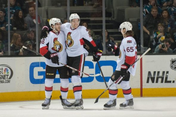 Image result for Mark Stone Mike Hoffman