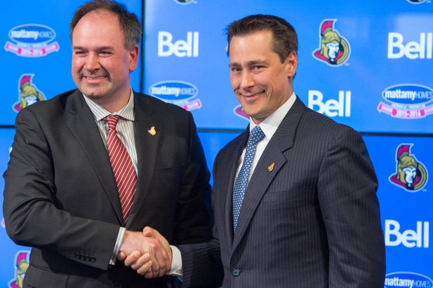 Guy-boucher-pierre-dorion-nhl-ottawa-senators-press-conference-