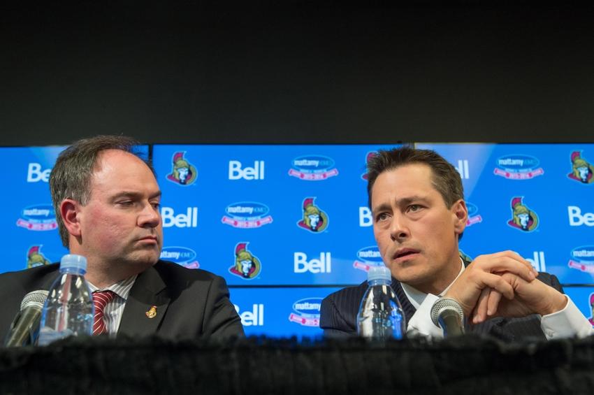Guy-boucher-pierre-dorion-nhl-ottawa-senators-press-conference-