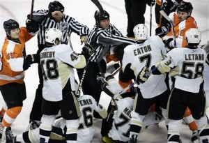 Penguins Flyers Hockey
