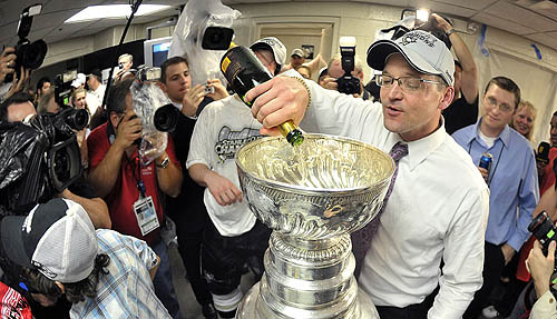 After 54 games as a head coach - in the AHL - Bylsma led the Pens on a magical march.