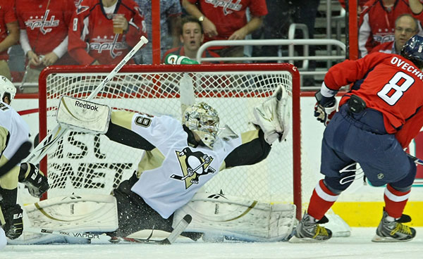 Fleury stones and stuns the Caps and their fans.