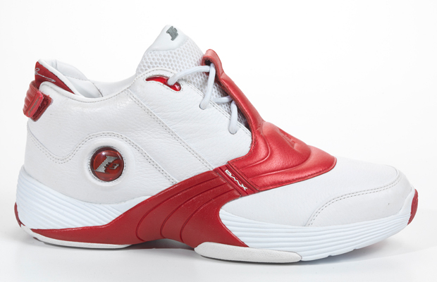 All Red Iverson Shoes