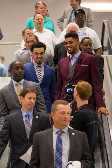Karl-anthony-towns-tyus-jones-nba-minnesota-timberwolves-press-conference