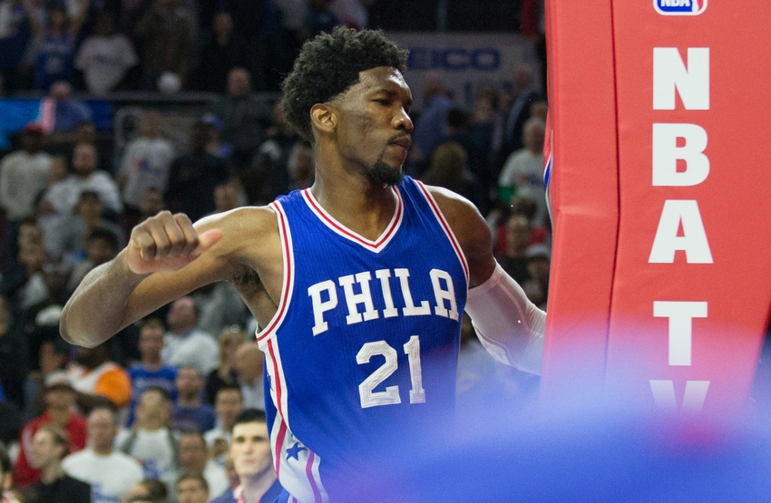 Sixers' Embiid, Okafor to take turns sitting out games