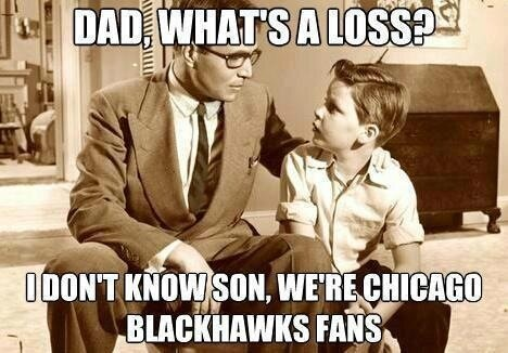 Blackhawks are only team without a regulation loss (origins of this picture are unknown)