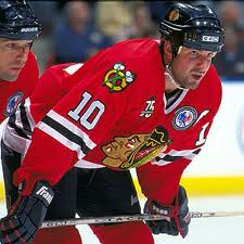 Tony Amonte Chicago Blackhawks- (Picture courtesy of nhlalumniproam.com)