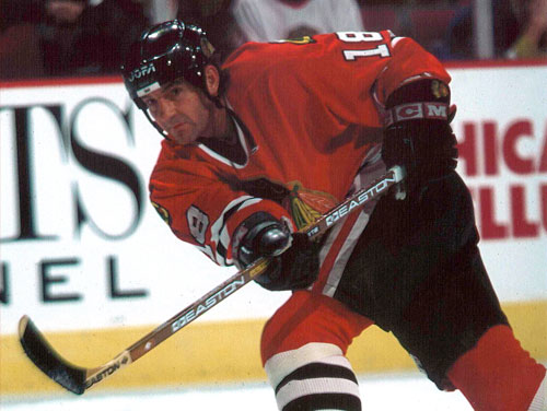 Denis Savard #18 ( Picture courtesy of www.savard18.com)